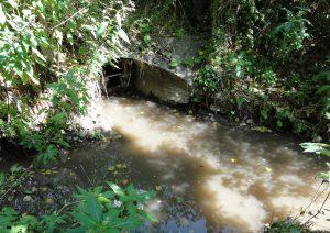 Mischwassereinleitstelle